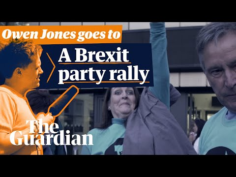 Owen Jones goes to a Brexit party rally | 'A bitter and divided nation?'
