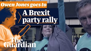 'A bitter divided nation': Owen Jones goes to a Brexit party rally