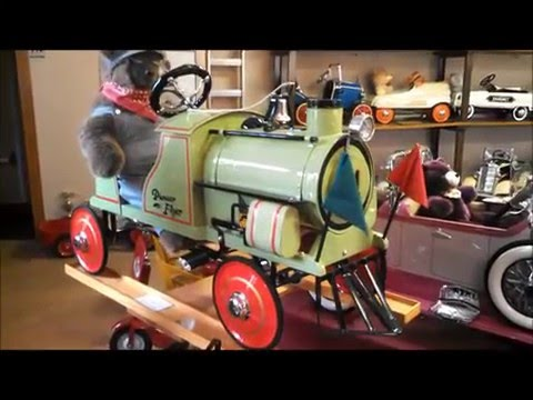 Seiverling Museum, LLC Car and Pedal Car Museum Train and Caterpilar