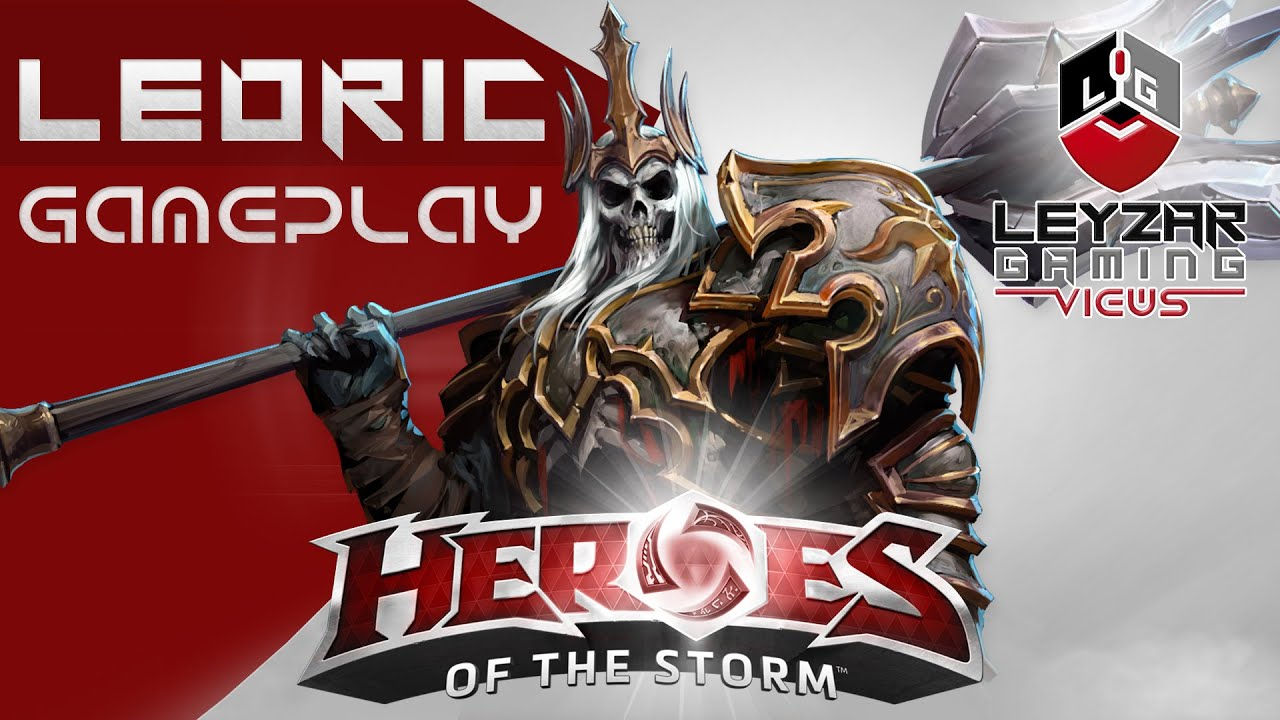 Heroes of the storm gameplay leoric tank harass build - Heroes of the storm space lord leoric ...