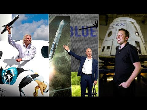 Why Do Billionaires Want to Go to Outer Space?