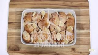 The Chew  - Croissant Bread Pudding Recipe