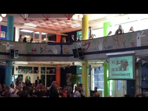 Diploma-uitreiking havo 2016: de intocht