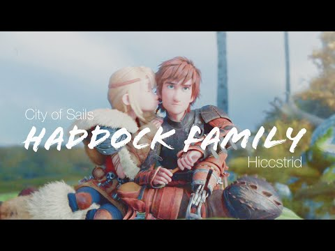 【Hiccstrid】Haddock Family