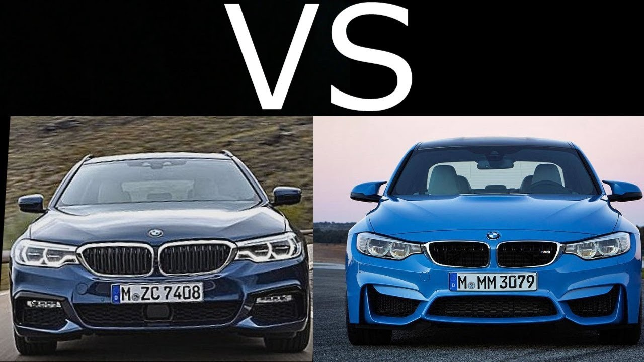 2018 Bmw M550d Xdrive Vs Bmw M3 Youtube