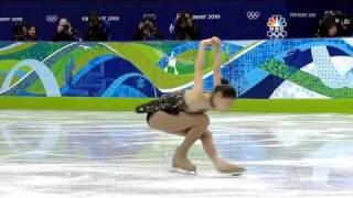 2010.2.24.Vancouver.Olympic.Figure.SP.Yuna Kim.NBC.