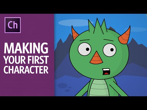 Making Your First Character (Adobe Character Animator Tutorial)