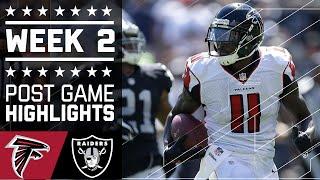 Falcons vs. Raiders | NFL Week 2 Game Highlights