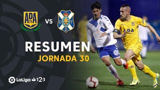Resumen de AD Alcorcón vs CD Tenerife (1-1)