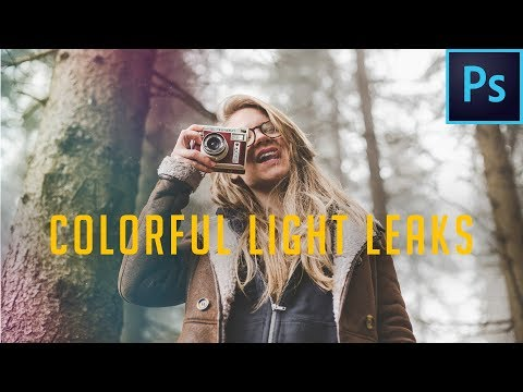 Vintage Photoshop Tutorial: Colorful Light Leaks