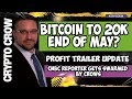 Bitcoin $20k End Of May?  🚀Profit Trailer Update 💰 CNBC Reporter Gets Swarmed by Crows 😱