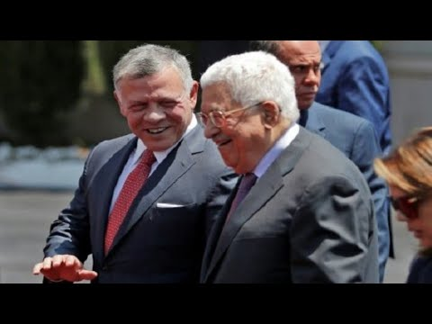 """Jerusalem is winning"" - King of Jordan visits President Abbas in West Bank"