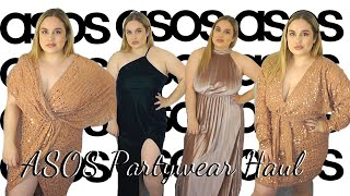 ASOS CHRISTMAS/NYE PARTY OUTFITS TRY ON HAUL DECEMBER 2019 | JADE TOMLINSON