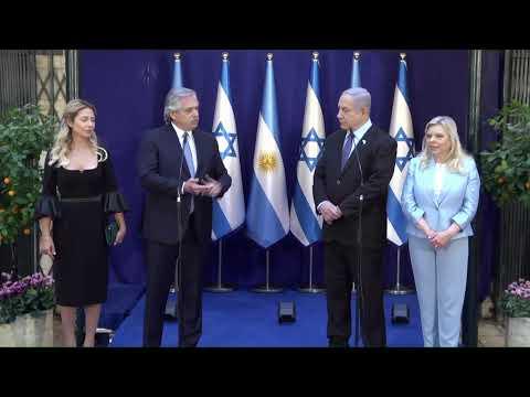 Netanyahu le agradeció a Alberto Fernández que mantuviera la clasificación de Hezbolá como grupo terrorista