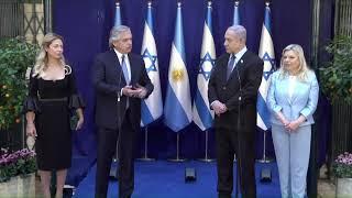 EN VIVO | Conferencia de prensa de Alberto Fernández y Benjamin Netanyahu