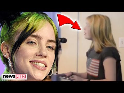 Billie Eilish Surprises MEGA-FAN With Home Video Before Fame!