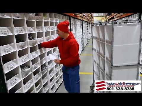 SpeedCell: High Density Picking for Pallet Rack | 801-328-8788 | NationWide Shelving