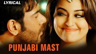 Punjabi Mast (Lyrical Full Song) | Action Jackson | Ajay Devgn & Sonakshi S …