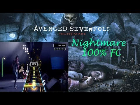 rock band 4 nightmare by avenged sevenfold 100 guitar fc youtube. Black Bedroom Furniture Sets. Home Design Ideas