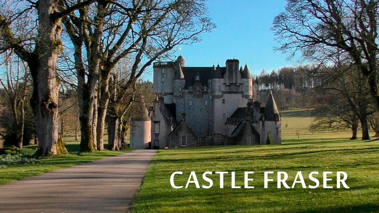 castle fraser 2017 - scotland 1080hd - youtube