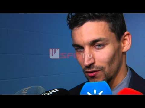 Entrevista Jesús Navas post partido Manchester City 2-1 Sevilla FC