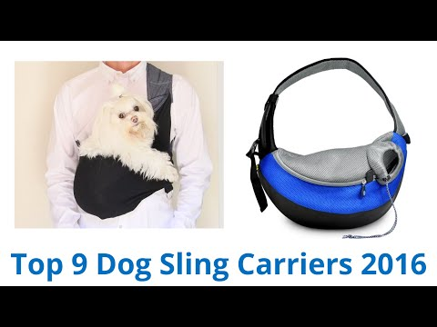 9 Best Dog Sling Carriers 2016