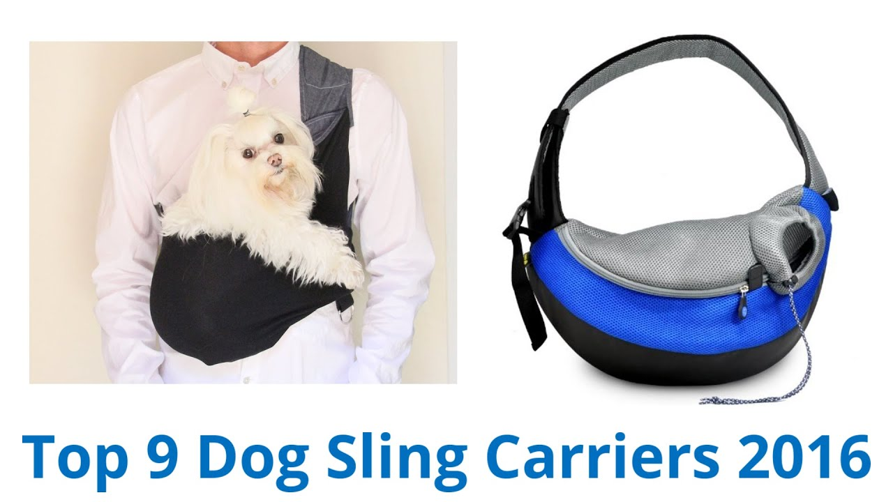 how to make a dog sling