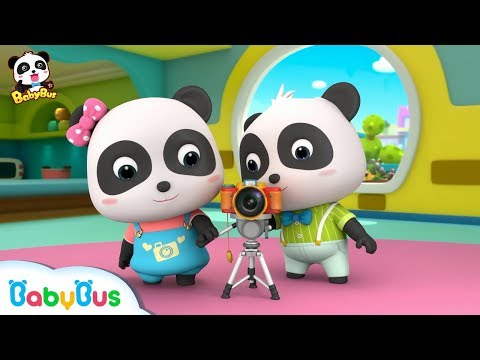 Panda Kiki Photographer | Baby Panda's Cooking Competition | Kids Role Play | BabyBus