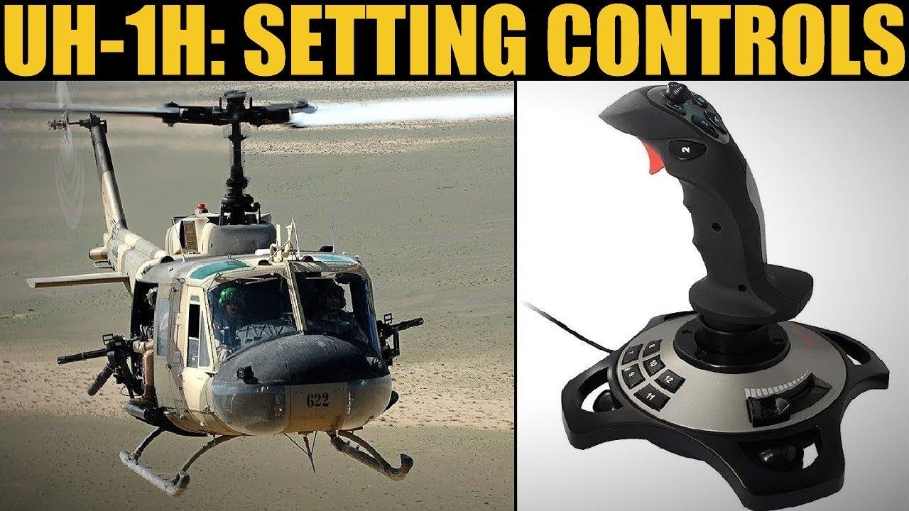UH-1H Huey: Setting Joystick Controls | DCS WORLD