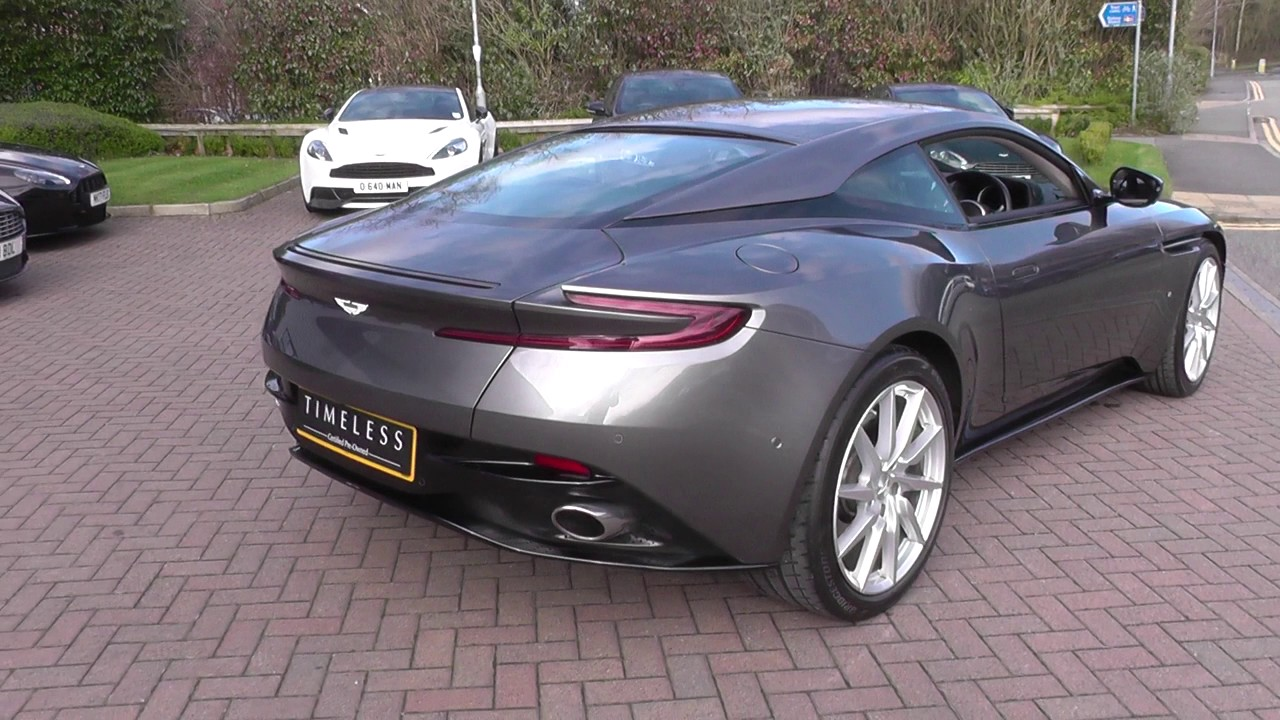Aston Martin DB11 V12 2dr Touchtronic Auto U12417 - YouTube