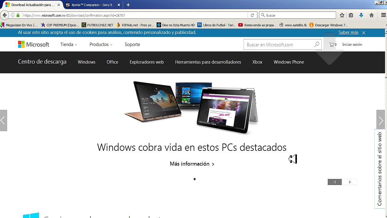 descargar xperia companion para windows 7 32 bits