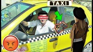 Un taximetrist a aruncat cu banii dupa mine !