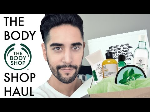 The Body Shop Haul 2016 (men's cosmetics product review) ✖ James Welsh