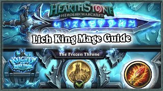 Hearthstone: Defeating Lich King Boss Guide - Standard Mage Deck
