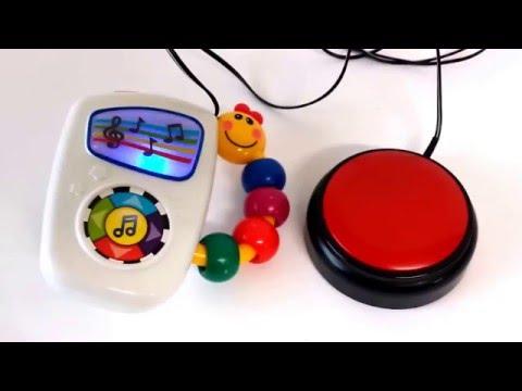 Baby Einstein switch adapted musical toy