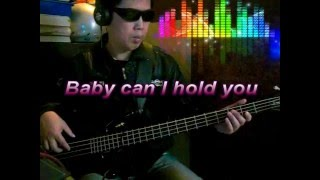 Ronan Keating Baby can I hold you -(Bass cover)