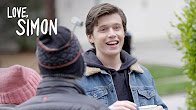 Love, Simon | Casting Nick Robinson as Simon | 20th Century FOX - Продолжительность: 58 секунд