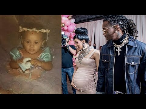 Hip Hop Power Couple Cardi B & Offset Welcome Daughter Into The World...KULTURE!