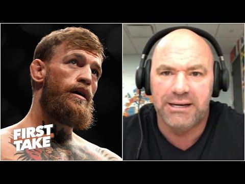 Dana White Talks Conor McGregor's Retirement & UFC 251   First Take