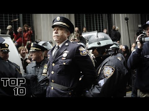 Top 10 Police Officers Arrested