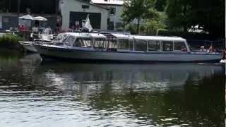 Bad Kösen - Auf der Saale mit dem Schiff zur Rudelsburg und Saaleck