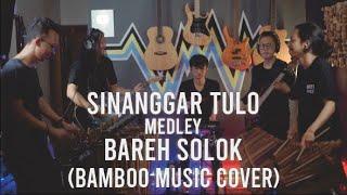 Sinanggar Tulo medley Bareh Solok ( Bamboo Music Cover by MAHAKA )
