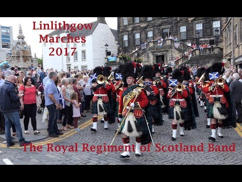 The Royal Regiment of Scotland Band - Linlithgow Marches 2017 [4K/UHD]