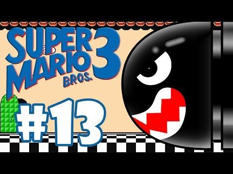 SUPER MARIO BROS 3 #13 - BOMBAS E CANHÕES