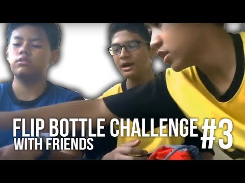 Bottle Flip Malaysia #3 / With Friends | That's Amazing