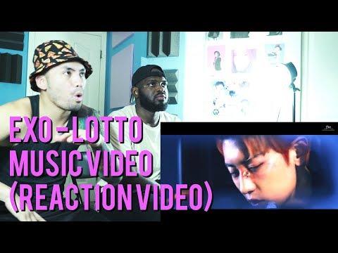 EXO - Lotto - Music Video - (Reaction Video)