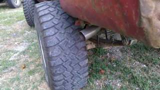 """Toyota 22r w/ stainless obx header and 2 1/4"""" exhaust"""