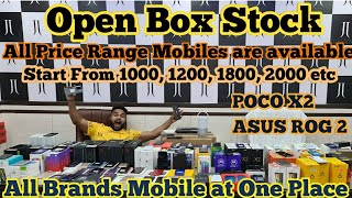 Start 1000, 1200, 1800 etc. Open Box Stock, All Brand Mobile at Low Price | JJ Communication