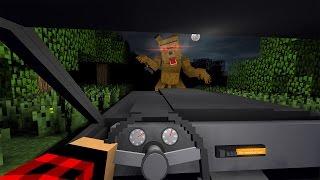 КАК СБЕЖАТЬ ОТ ОБОРОТНЯ в Minecraft
