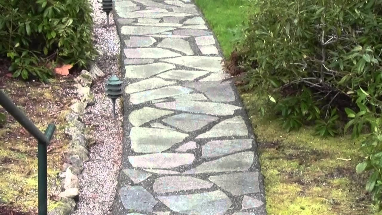 How To Install Slate Patios U0026 Walkways, By Peninsula Landscape Supplies    YouTube